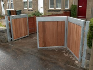 Greenscape Edinburgh Fences Gates And Wooden Compost